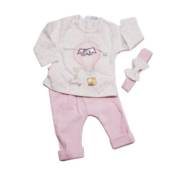 100% Cotton Idil baby girls set